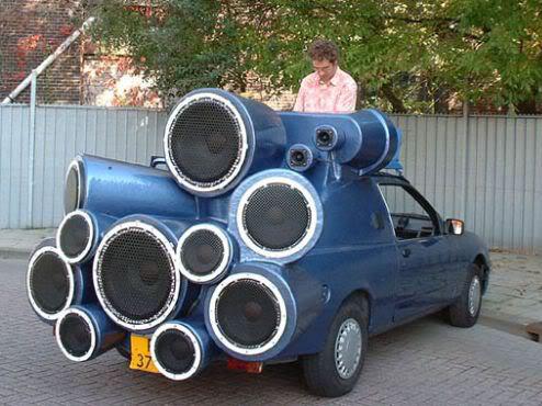 Crazy Car Stereo