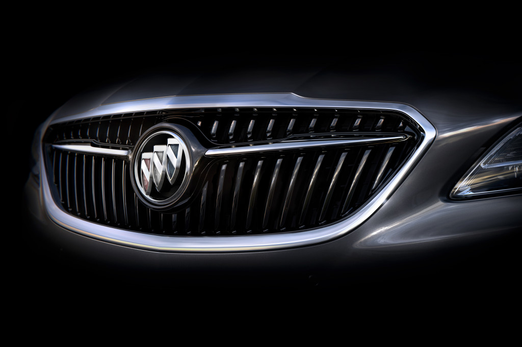 2017 Buick LaCrosse will feature many Avenir-inspired design cues and introduce the new face of Buick.  LaCrosse will make its global debut in November at the Los Angeles Auto Show. © General Motors.