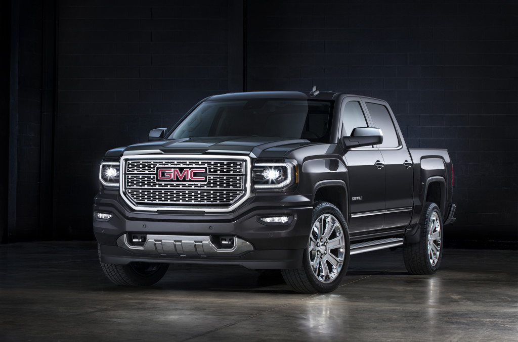 2016 GMC Sierra Denali Ultimate. © General Motors.