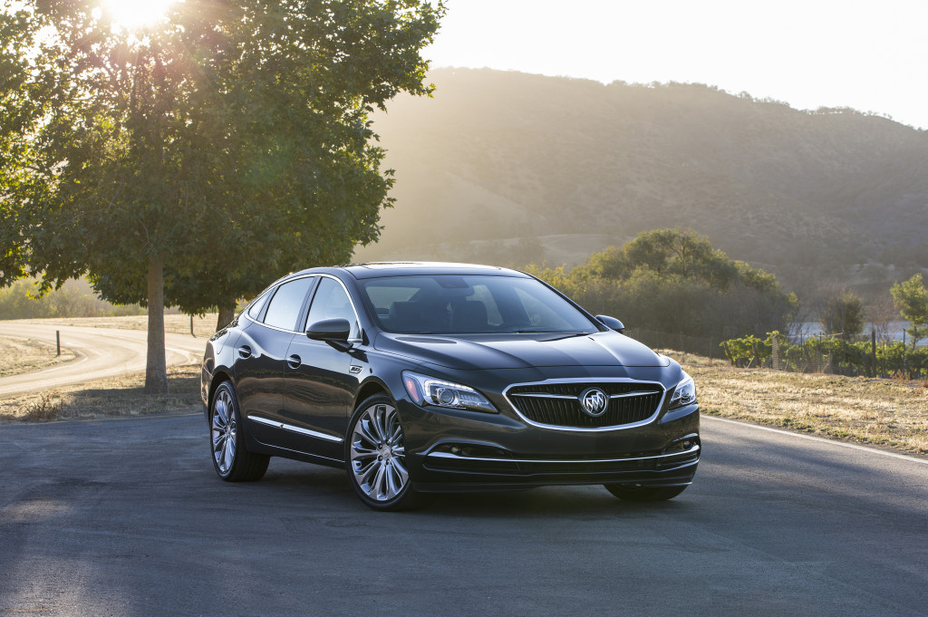 The All – New 2017 Buick LaCrosse. © General Motors.