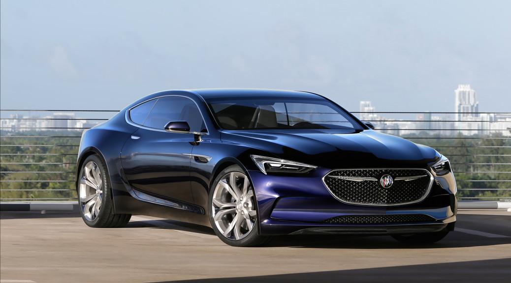 2016 Buick Avista Concept © General Motors.