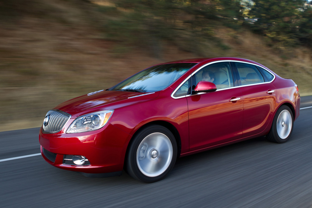 2013 Buick Verano. © General Motors.
