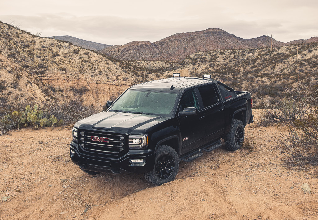 2016 GMC Sierra All Terrain X. © General Motors.