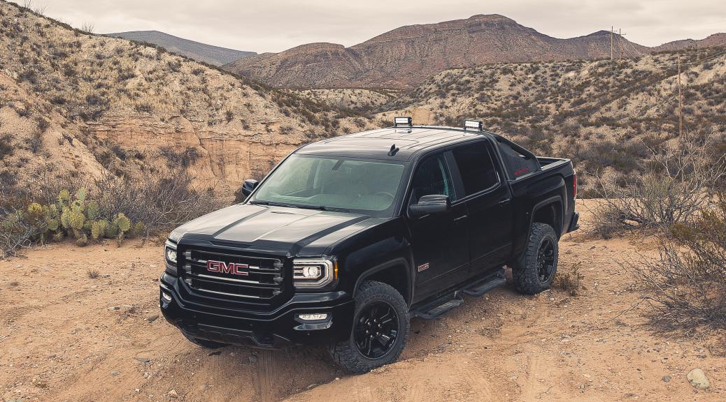 2016 GMC Sierra All Terrain X. © General Motors.