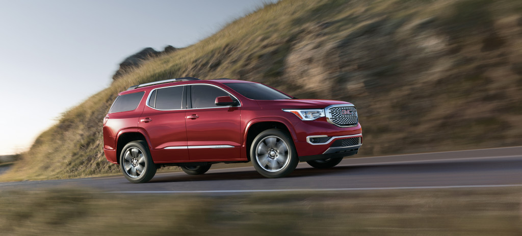 2017 All-New GMC Acadia Denali. © General Motors.