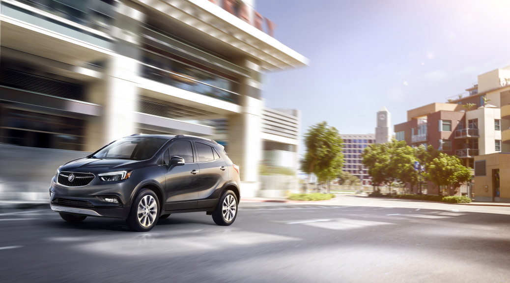2017 Buick Encore. © General Motors.