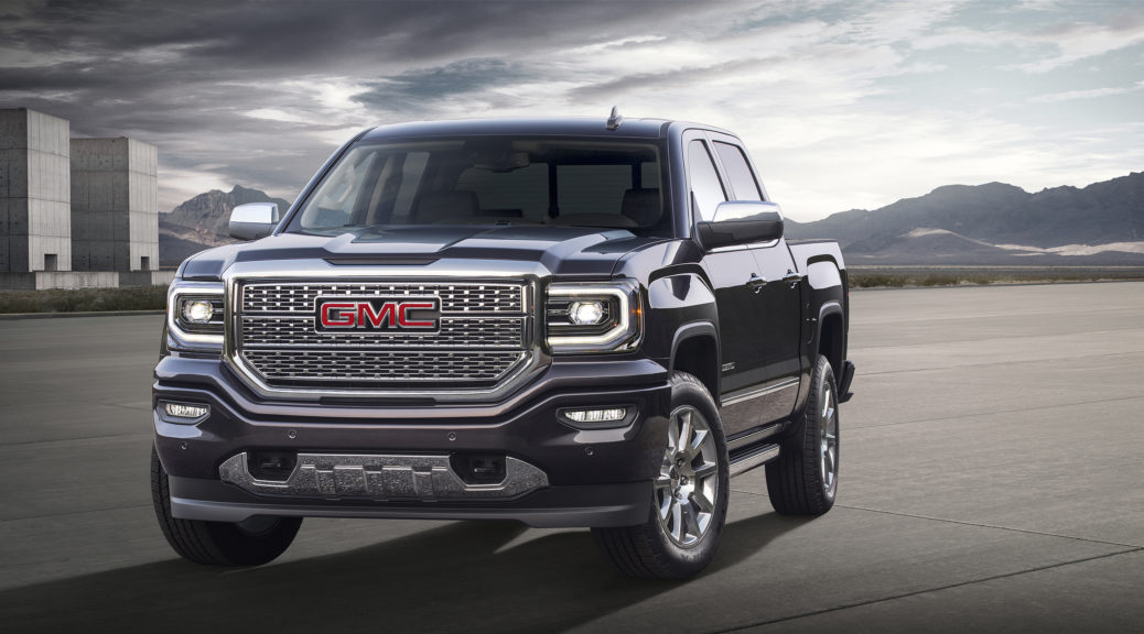 2016 GMC Sierra Denali © General Motors.